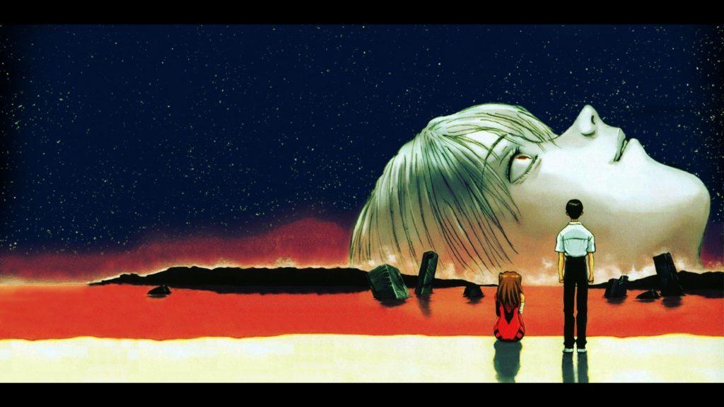 El final de Evangelion.