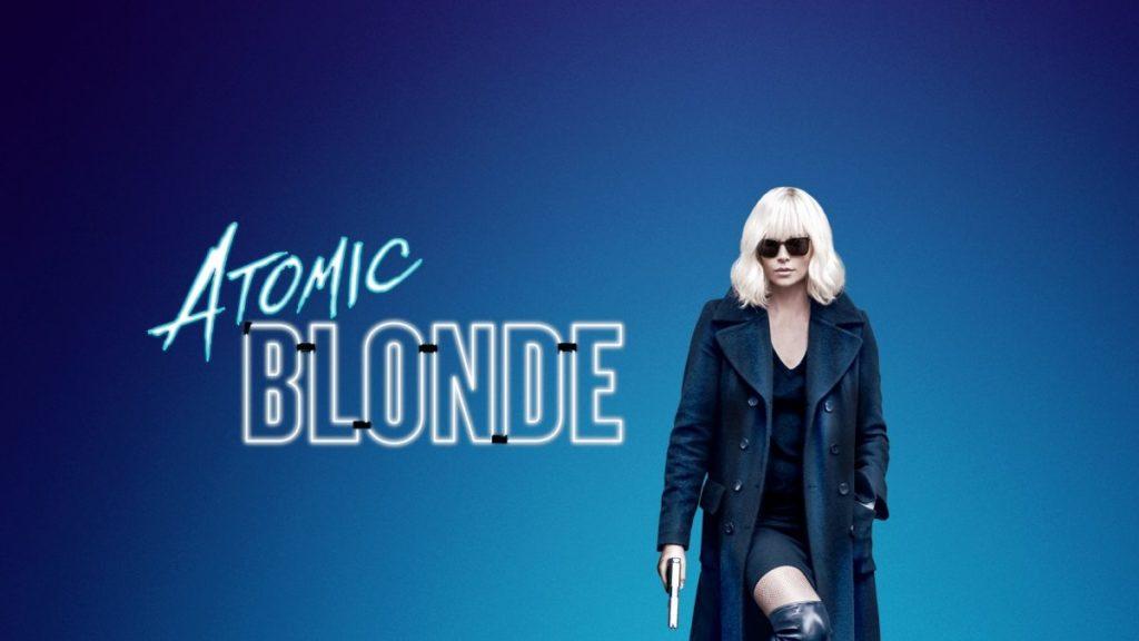 Atomic Blonde protagonizada por la hermosa Charlize Theron.