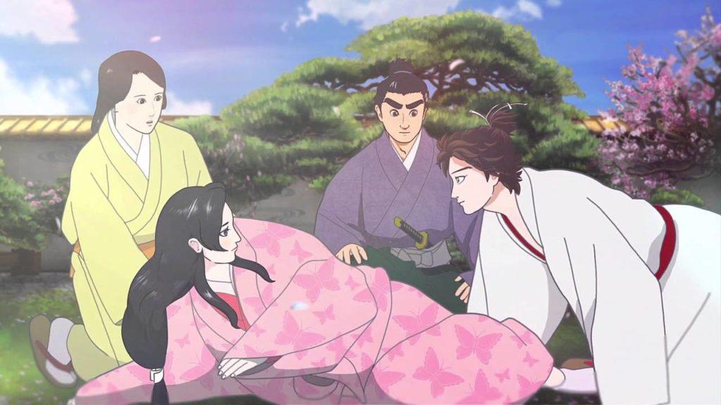 Nobunaga Concerto (2014) otro de los animes similares a Tokio Revengers.