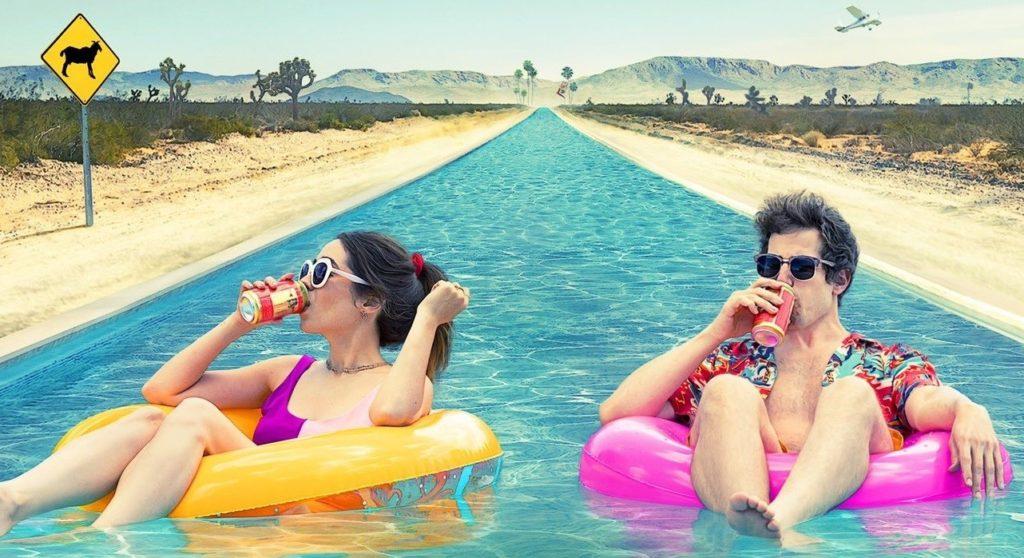 Palm Springs es una comedia romántica con mucha ciencia ficción.