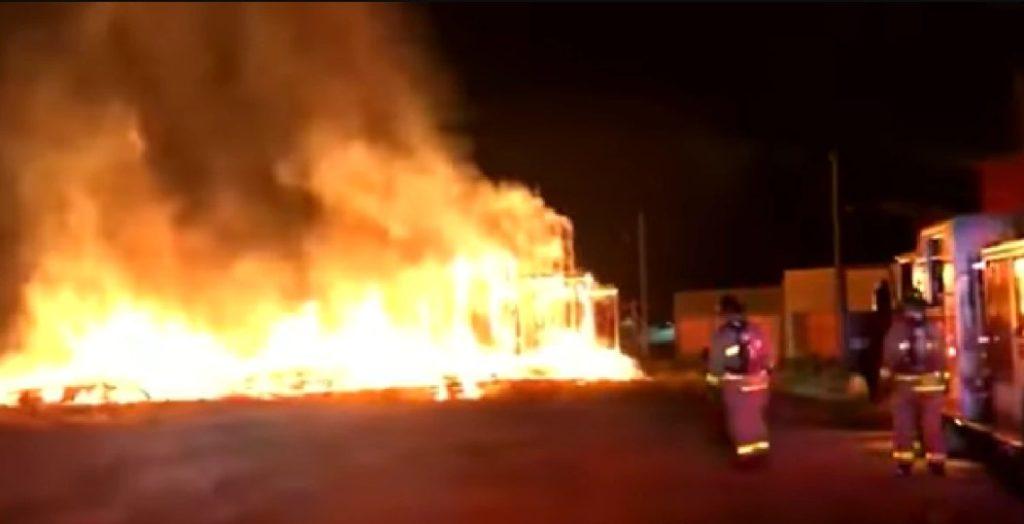 No hay heridos en el incendio del estudio de grabación de Stranger Things